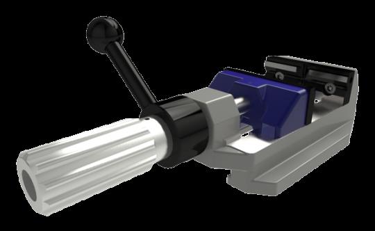 ecopos-R Bohrmaschinenschraubstock mit Spannhilfe